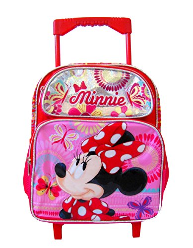 Minnie Mouse Disney 12 Toddler Mini Rolling Backpack