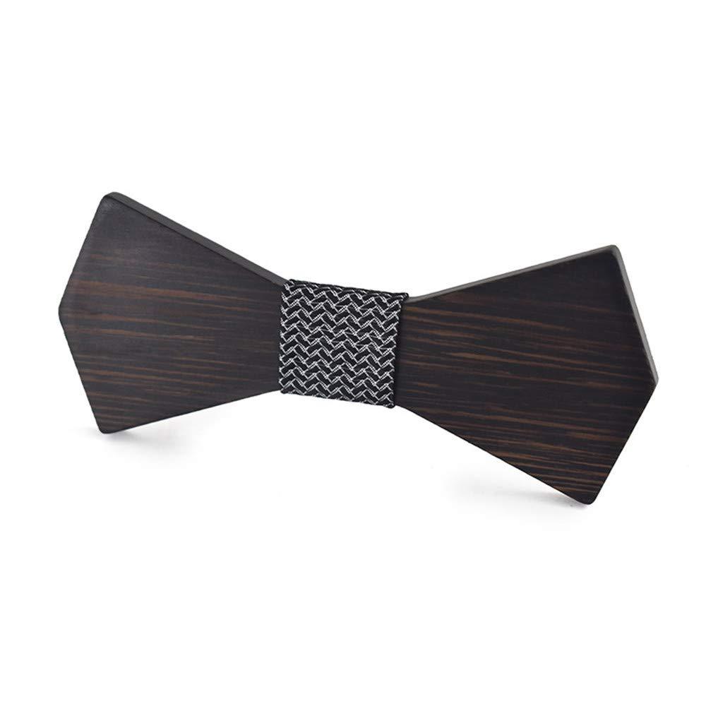 Pajarita de Madera Corbata de Lazo de Madera para Hombre y Mujer ...