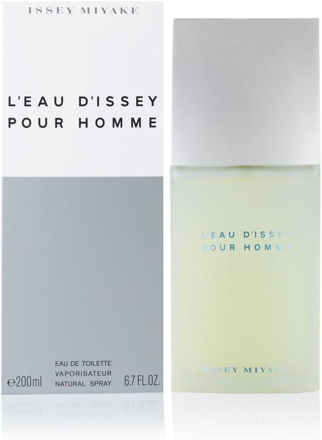 Issey Miyake L'Eau D'Issey Homme Eau de Toilette Vaporizador 200 ml