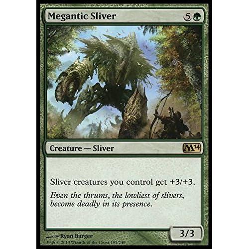 Magic: the Gathering - Megantic Sliver (185/249) - Magic 2014