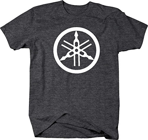 Yamaha Tuning Forks Circle Snowmobile Motorcycle 4 Wheeler Mens T Shirt - Xlarge