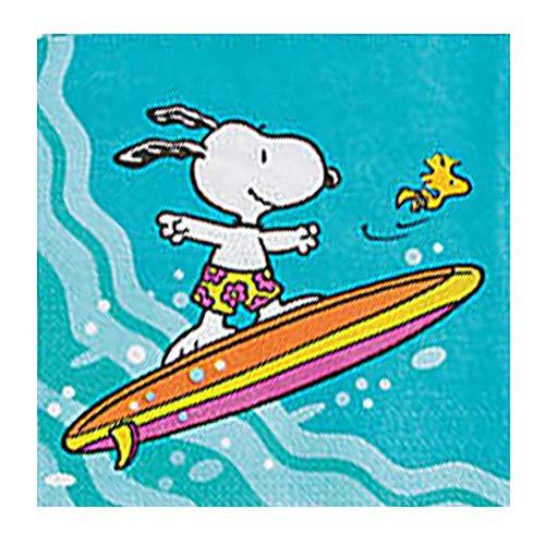 (Peanuts Snoopy 'Summer' Small Napkins)