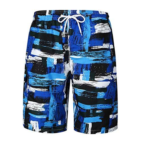Casuales patrón Sueltos Pantalones Playa de de tamaño de Pantalones Pantalones Tendencia Patrón Gran de Pantalones AqXPY