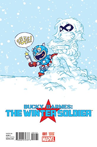 Bucky Barnes Winter Soldier #1 Young Variant Comic Book -  Marvel Comics