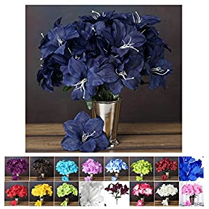 Efavormart 60 Easter Artificial Lilies Wedding Craft Flowers Party Decor Wholesale Supplies 16
