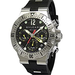 Bvlgari Diagono Professional swiss-automatic mens Watch SC 40 S (Certified Pre-owned)