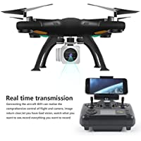Gbell RC Aircraft Quadcopter UAV Drone Wifi FPV RTF 2.4G 4CH Gimbal HD Camera for Kids,Adults