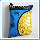 1 Bag of Yellow Crinkle Cut Paper Shred for Gift Packaging Wrap Basket Filling