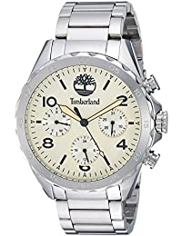 Mens TBL15015JS07M PELHAM Analog Display Analog Quartz Silver Watch. Timberland