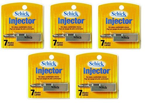 Schick Injector Blades - 7 Ct.  + FREE Schick Slim Twin ST f