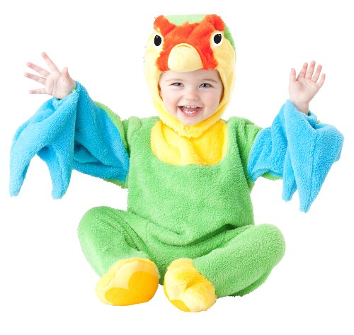 [California Costumes Women's Love Bird Infant, Multi, 12-18] (Parrot Infant Costumes)