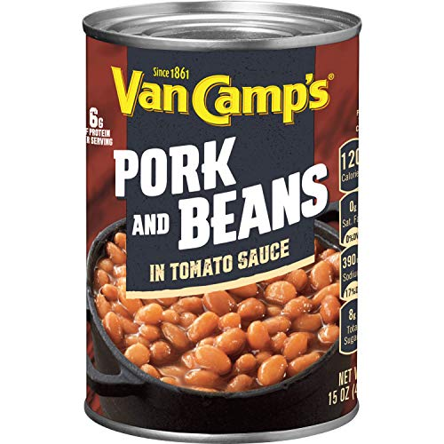 VAN CAMP'S Pork and Beans, 15 oz.