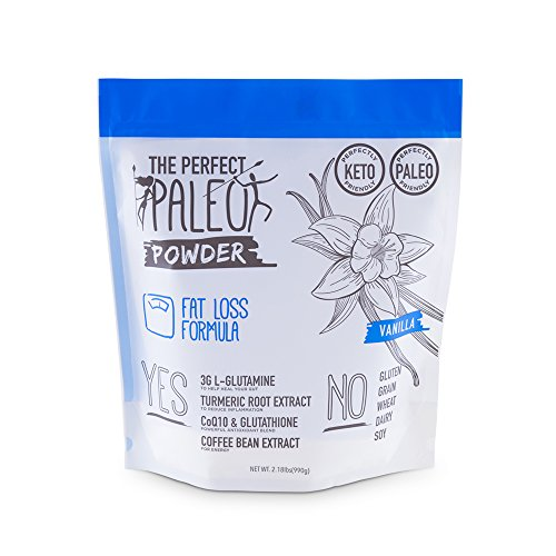 Paleo Fat Loss - Vanilla - 30 Servings by The Perfect Paleo Powder