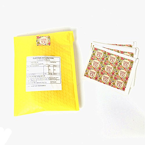 sesco-7x11-colored-poly-shipping-bubble-envelope-mailers-boutique-custom-bags27-counts-yellow