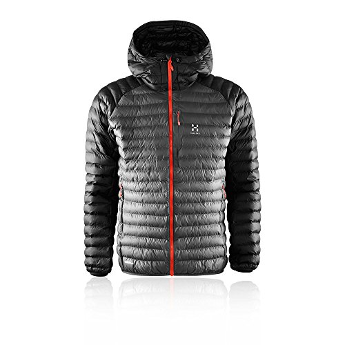 Haglofs Essens Mimic Hooded Outdoor Jacket - AW18 - Large - Grey from Haglofs