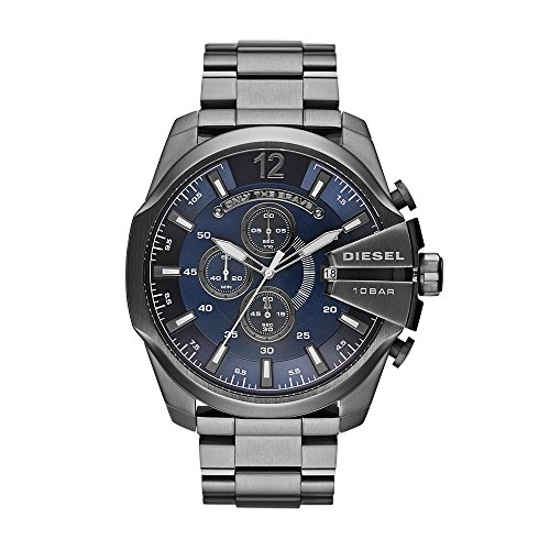 Diesel Men's DZ4329 Mega Chief Gunmetal Watch (Chief Metal)