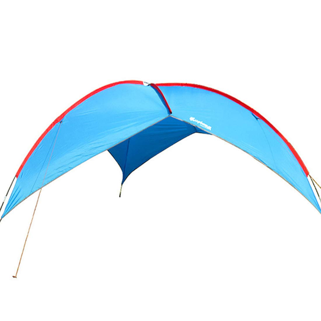 HAOERHOME Himmel-Vorhang-Zelt, wasserdichtes Zelt für Das Kampieren im Freien (Farbe : Blau)