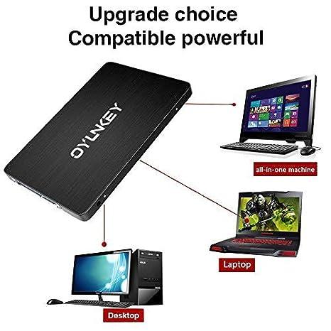 OYUNKEY 3D NAND SSD 2TB 2.5 Pulgadas SATA III Disco Duro sólido Interno para Desktop/Laptop/Notebook(E PRO-2TB): Amazon.es: Electrónica
