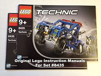 Amazon Instruction Manuals For Lego Technic Set 8435 4wd