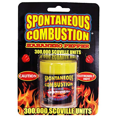 Spontaneous Combustion Habanero Pepper - Ultimate Pepper Gift - Try if you dare!... ...