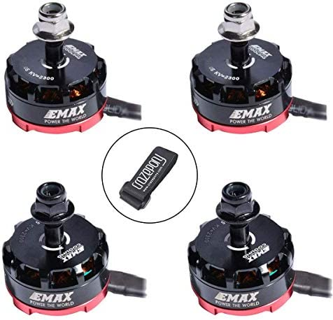 RSII 2207 2300KV EMAX RSII2207 2300KV Brushless Motor CW Thread 3S 4S for 210 220 250 FPV Racing RC Drone Quadcopter Frame