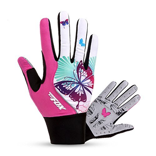 Basecamp Full Finger Mountain Road Bike Gloves,Unisex Summer Gel Rsistance Gloves Riding Cycling Biking Bicycle Gloves