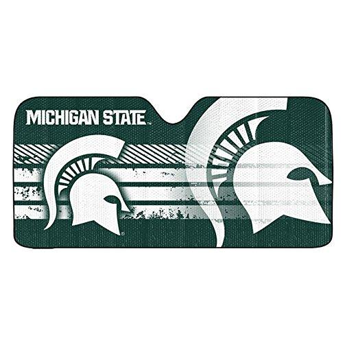Sunshade Michigan - Team ProMark Michigan State Spartans Auto Sun Shade 59x27