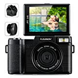 FLOUREON Camcorder Digital Camera DV 3.0 Inch Screen Full HD...