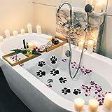 Mudder 20 Pieces Non-Slip Bathtub Stickers Adhesive