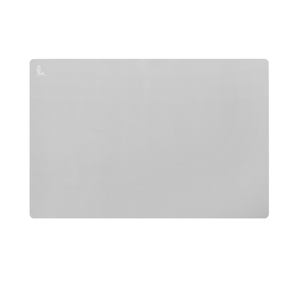 Super Kitchen Extra Large Multipurpose Silicone Nonstick Baking Mat, Pastry Mat, Heat Resistant Nonskid Table Mat, Countertop Protector, 24''16''(Cool Gray)