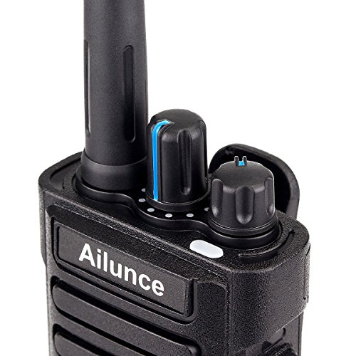 Ailunce HD1 GPS Digital 2 Way Radio Dual Band Dual Time Slot 10W 3000Channels 100000 Contacts 3200mAh Waterproof Ham Radio with FM Function and Programming Cable(Black,1pack) by Ailunce (Image #6)