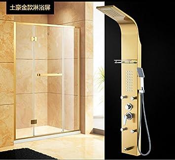 GFEI Mampara de ducha de acero inoxidable _ barato, nuevo cuarto de ...