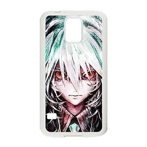 Vocaloid 010 Samsung Galaxy S5 cubierta de la caja blanca del teléfono celular de la cubierta del caso EVAXLKNBC03505