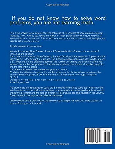 Word Problems-Detailed Explanations of Reasoning and Solving ...