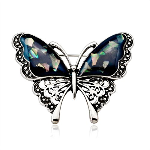 ptk12 Vintage Large Enamel Animal Butterfly Brooches Corsage Brooch Pin Wedding Broach Insect by ptk12