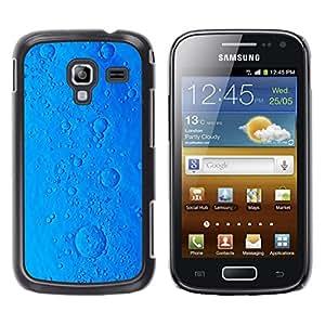 FlareStar Colour Printing Pill Sci-Fi Ocean Virus Cookie Blue Planet cáscara Funda Case Caso de plástico para Samsung Galaxy Ace 2 i8160 / Ace2 II XS7560M