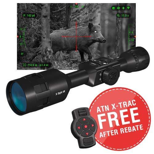 theOpticGuru ATN X-Sight-4k Pro 3-14x Smart Day/Night Scope w/Full HD Video rec, Smooth Zoom, Bluetooth and Wi-Fi (Streaming, Gallery & Controls) by theOpticGuru