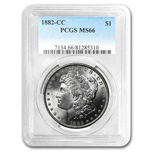1882 CC Morgan Dollar MS-66 PCGS $1 MS-66 PCGS