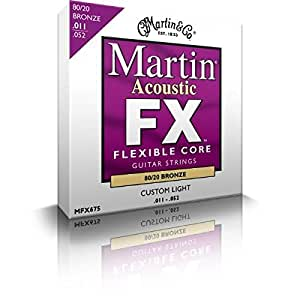 Amazon Com Martin Fx Flexible Core Mfx675 Custom Light