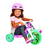 "Minnie Mouse 10"" Fly Wheel Ride-on Tricycle, Pink/White/Teal, 12.2"" x 19.8"""