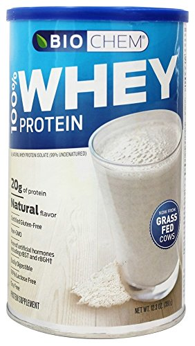 BIOCHEM 100% WHEY PROTEIN,NATURAL, 12.3 OZ