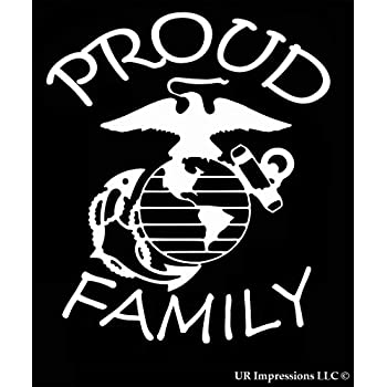amazon ur impressions proud marine dad decal vinyl sticker Windows 7 Start Button ur impressions proud marine family decal vinyl sticker graphics for cars trucks suv vans walls windows laptop white 7 x 5 5 inch uri423