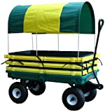 Millside Industries Trekker Wagon with Yellow Poly Rack Set