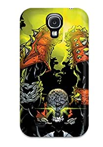 Protective Tpu Case With Fashion Design For Galaxy S4 (spawn)