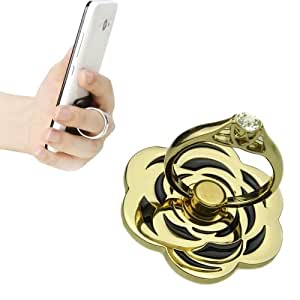 Angibabe Universal 360 Degree Rotation Petaline Ring Holder / Car Hanging Ring for iPhone / iPad / Samsung / HTC / Nokia / LG Mobile Phone