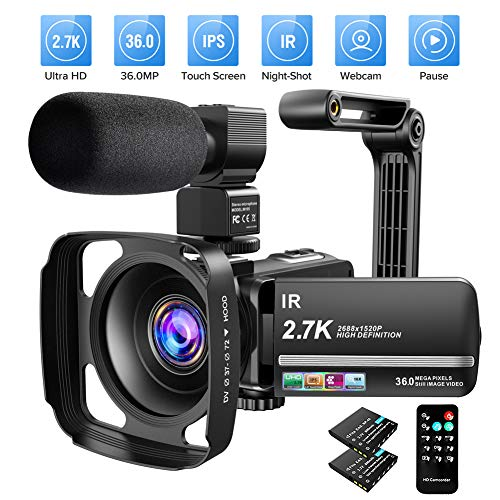 Video Camera Camcorder 2.7K