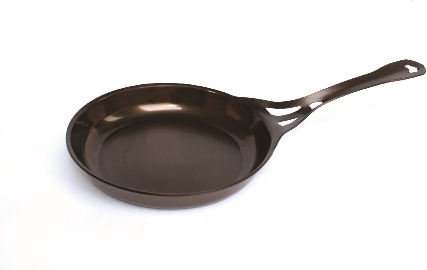 "AUS-ION Skillet, 10.2"" (26cm), Smooth Finish, 100% Made in Sydney, 3mm Australian Iron, Professional Grade Cookware"