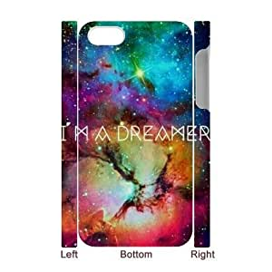 Galaxy Space Universe Brand New 3D Cover Case for Iphone 4,4S,diy case cover ygtg553930