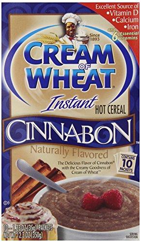 Cream of Wheat, Hot Cereal, Cinnabon, 12.3 Ounce