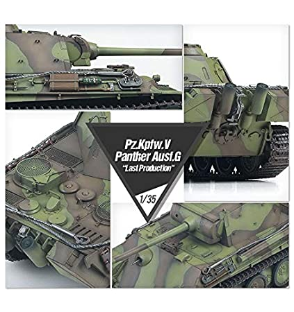 1/35 Pz.kpfw.V Panther AUSF.G Last Production #13523 Academy ...